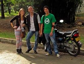 Návika, Alejandro Ocampo y Cris Montoya.
