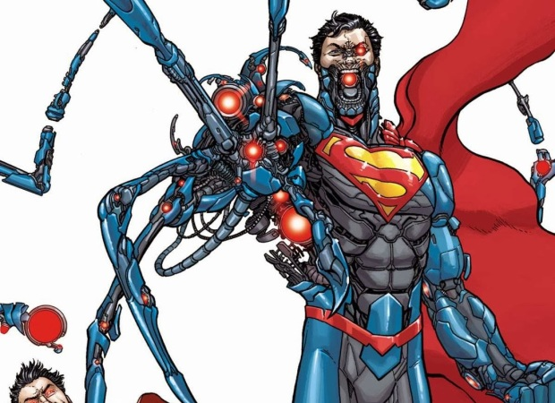 Superman-Cyborg-Zor-el